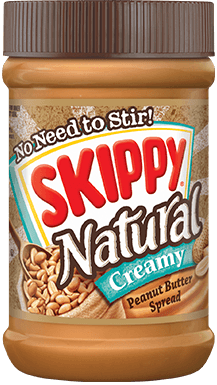 SKIPPY® Natural Creamy Peanut Butter